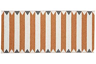 Peak Plastmatte 150x250 Vendbar PVC Oransje