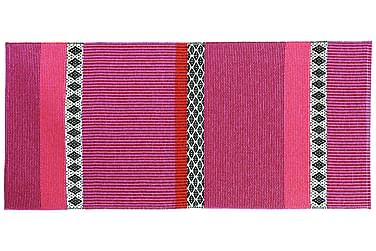 Savanne Plastmatte 70x150 Vendbar PVC Rosa