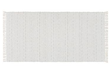 Svea Matte Miks 200x300 PVC/Bomull/Polyester Hvit
