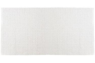 Uni Matte Miks 150x180 PVC/Bomull/Polyester Hvit