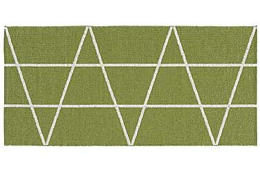 Viggen Plastmatte 70x150 Vendbar PVC Grønn