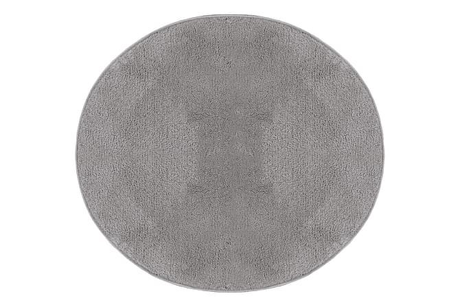 Cosy Ryematte Rund 200 Deluxe - Sølvgrå - Innredning - Tepper & Matter - Runde tepper