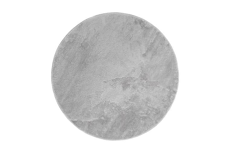 Esarby Ryematte 80 cm Rund - Sølv - Innredning - Tepper & Matter - Runde tepper