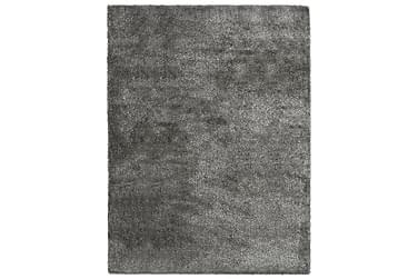 Shaggy flossteppe 80x150 cm antrasitt