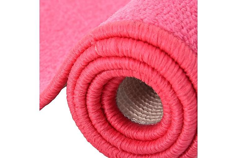 Soveromstepper 3 stk tykk lugg rosa - Rosa - Innredning - Tepper & Matter - Ryeteppe