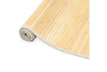 Bambusteppe 80x200 naturell
