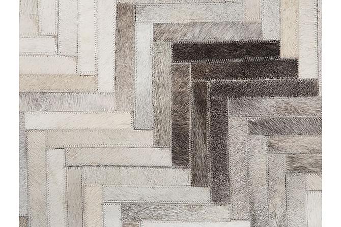 Chastleton Matte 160x230 cm Lær - Grå - Innredning - Tepper & Matter - Skinn & pelstepper