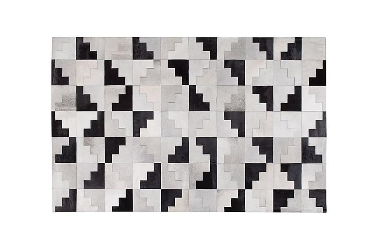 Fluette Matte 140x200 cm Lær - Svart - Innredning - Tepper & Matter - Skinn & pelstepper