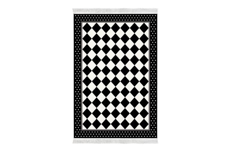 Alanur Home Matte 80x300 cm - Svart/Hvit - Innredning - Tepper & Matter - Små tepper