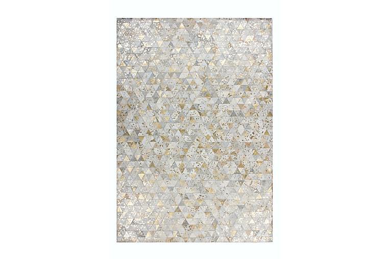 Hingre Ldu Matte 80x150 cm Elfenben/Gull/Lær - D-Sign - Innredning - Tepper & Matter - Små tepper