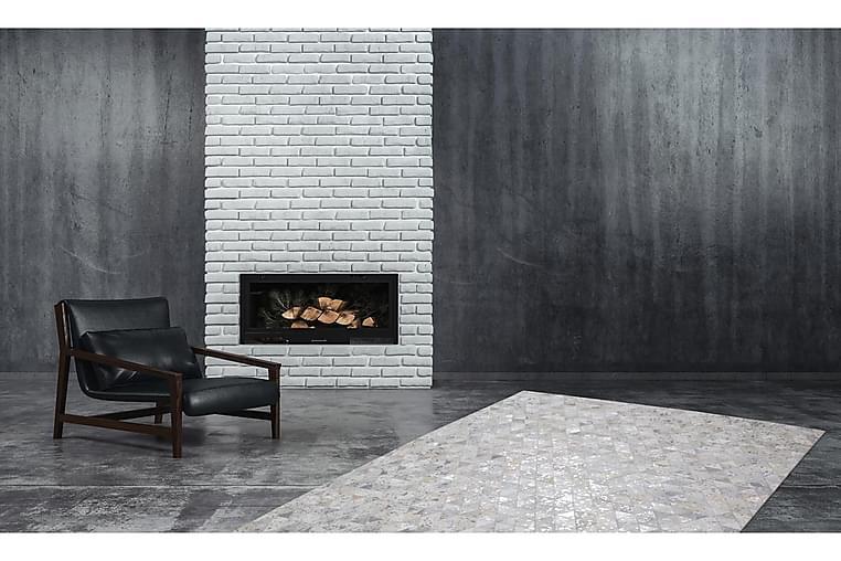 Hingre Matte Ldu Grå/Sølv 80x150 cm - Innredning - Tepper & Matter - Små tepper