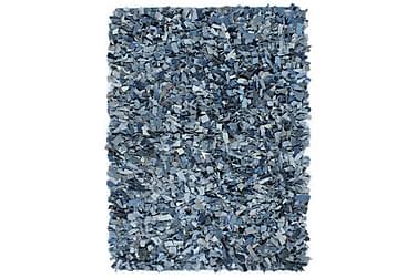 Shaggy teppe denim 120x170 cm blå