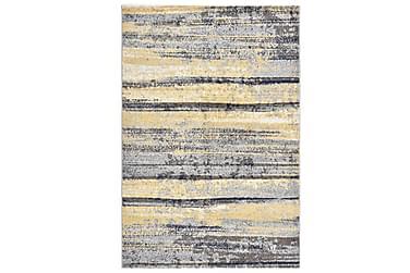 Teppe grå og beige 80x150 cm PP