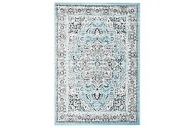 Teppe lyseblå 120x170 cm PP