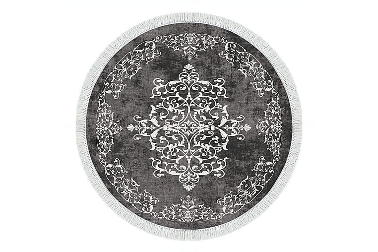 Alanur Home Matte 160x160 cm - Grå/Hvit - Innredning - Tepper & Matter - Store tepper