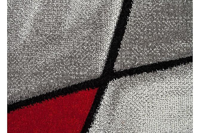 London Brilliance Friezematte 160x230 - Rød - Innredning - Tepper & Matter - Friezematter