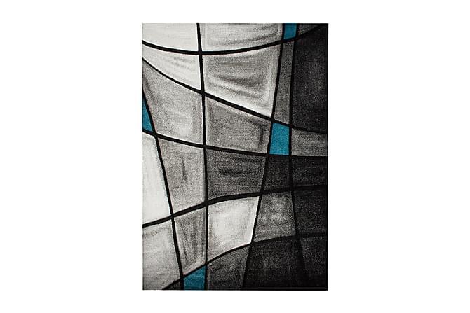 London Brilliance Friezematte 160x230 - Turkis - Innredning - Tepper & Matter - Friezematter