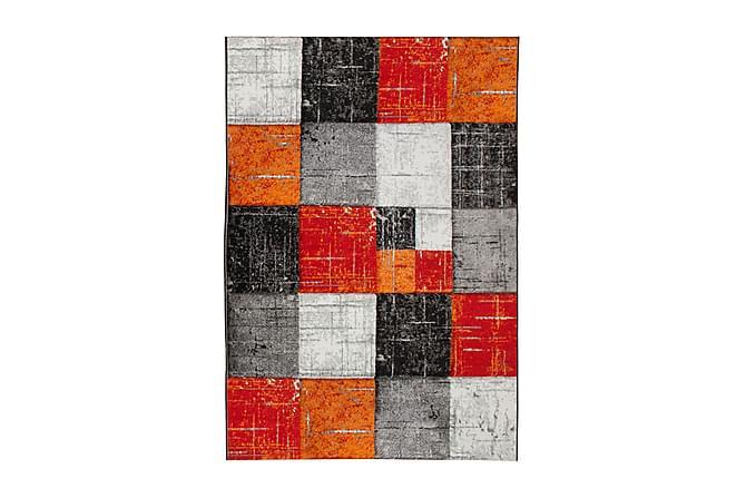 London Square Friezematte 200x290 - Rød/Oransje - Innredning - Tepper & Matter - Store tepper