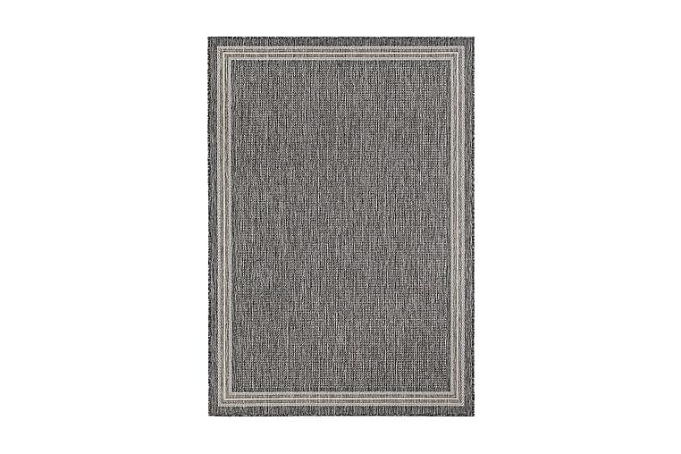 Numancia Frame Matte 160x230 cm Flatvevd - Grå - Innredning - Tepper & Matter - Store tepper