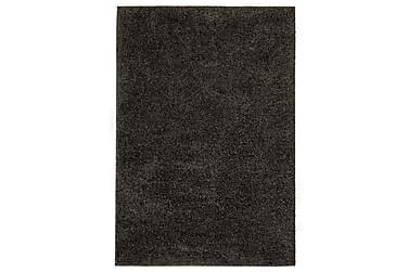 Shaggy flossteppe 160x230 cm antrasitt
