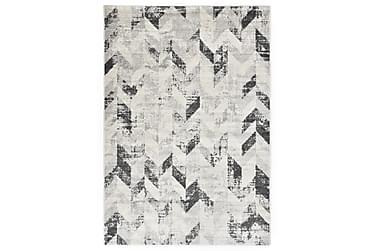 Teppe grå og hvit 160x230 cm PP