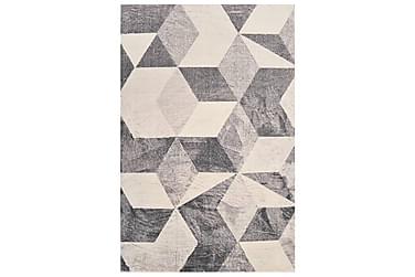Teppe print beige 160x230 cm polyester