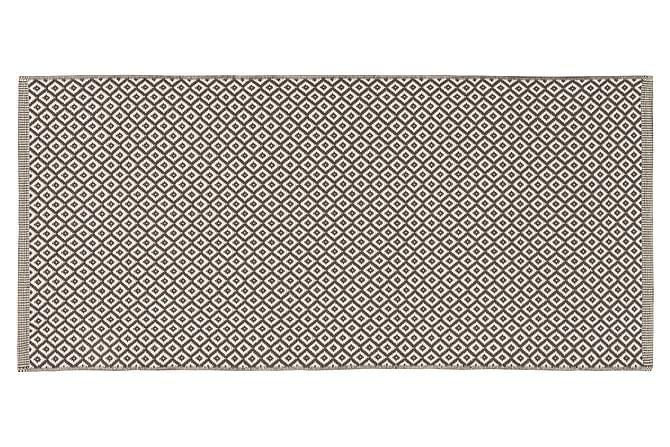 Horredsmattan Björkö Ullmatte 75x75 - Grafitt - Innredning - Tepper & Matter - Ullteppe