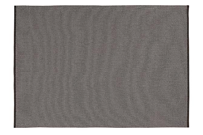 Horredsmattan Orust Ullmatte 140x200 - Grafitt - Innredning - Tepper & Matter - Ullteppe