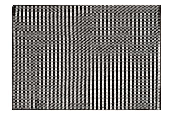 Horredsmattan Tjörn Ullmatte 170x240 - Svart - Innredning - Tepper & Matter - Ullteppe