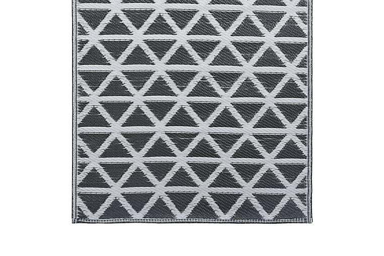 Uteteppe svart 120x180 cm PP - Innredning - Tepper & Matter - Utendørs tepper