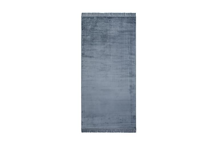 Rosarka Viskosematte 80x150 cm - Jeansblue - Innredning - Tepper & Matter - Viskosematter