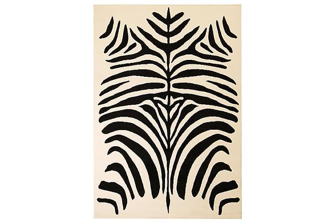Somanda Moderne Matte 160x230 Zebradesign - Beige/Svart - Innredning - Tepper & Matter - Små tepper
