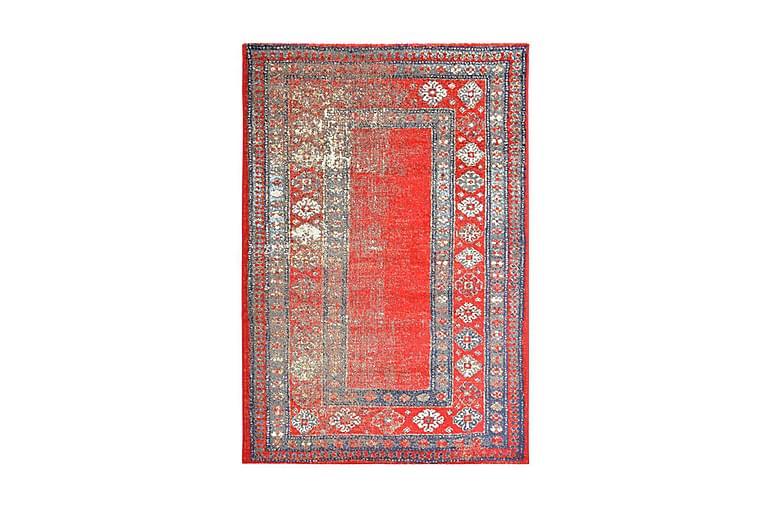 Teppe rød 80x150 cm PP - Innredning - Tepper & Matter