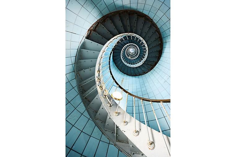 Bilde 80x120 cm Akrylbilde Seaview - Glass/Flerfarget - Innredning - Veggdekorasjon - Bilder & kunst