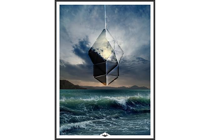 Crystal Light Bilde - 50x70 cm - Innredning - Veggdekorasjon - Bilder & kunst