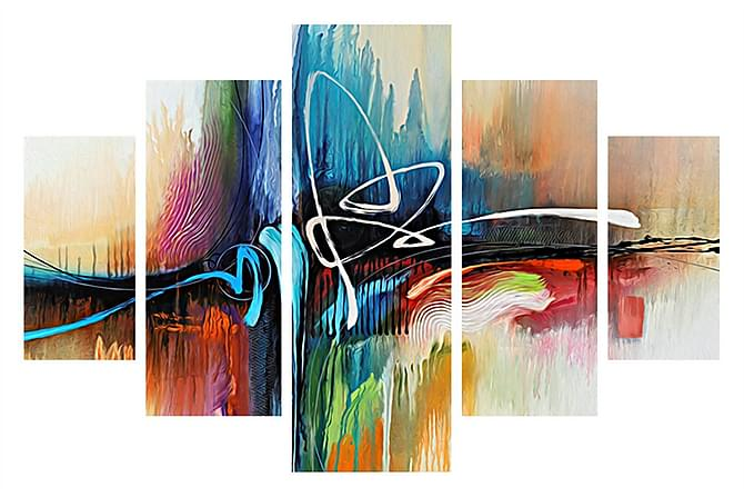 Dekorativ MDF-Bilde 5-delt - Innredning - Veggdekorasjon - Bilder & kunst