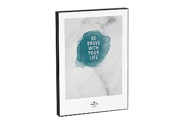 Graphic Living Be brave