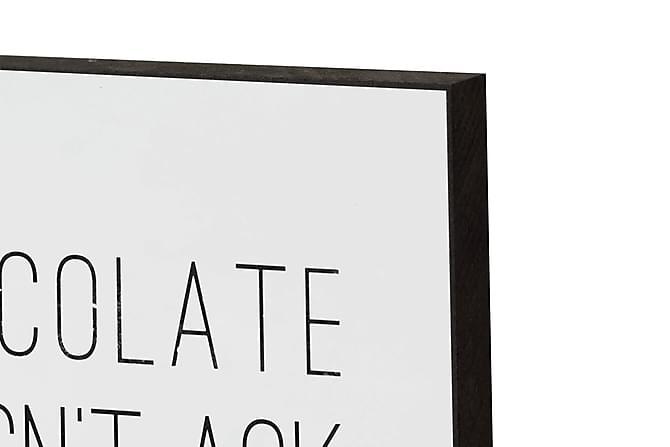 Graphinc Chocolate - Innredningsblokk 21x15x2cm - Innredning - Veggdekorasjon - Bilder & kunst