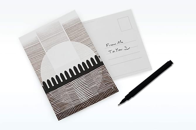 Henriette Borg Rising - Kort 15x21cm - Innredning - Veggdekorasjon - Bilder & kunst