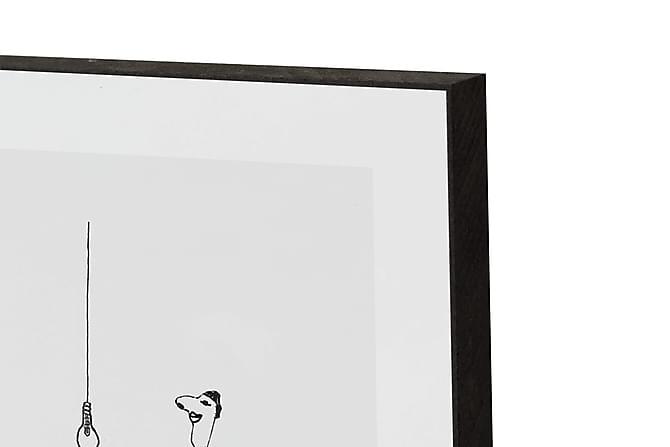 MK Made for you, Happy - Innredningsblokk 21x15x2cm - Innredning - Veggdekorasjon - Bilder & kunst