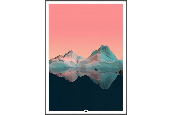 Mountain Bilde - 50x70 cm - Innredning - Veggdekorasjon - Bilder & kunst