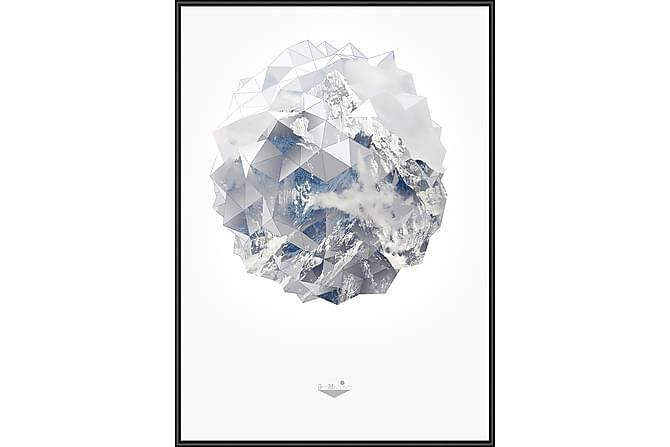 Mountain globe Bilde - 50x70 cm - Innredning - Veggdekorasjon - Bilder & kunst