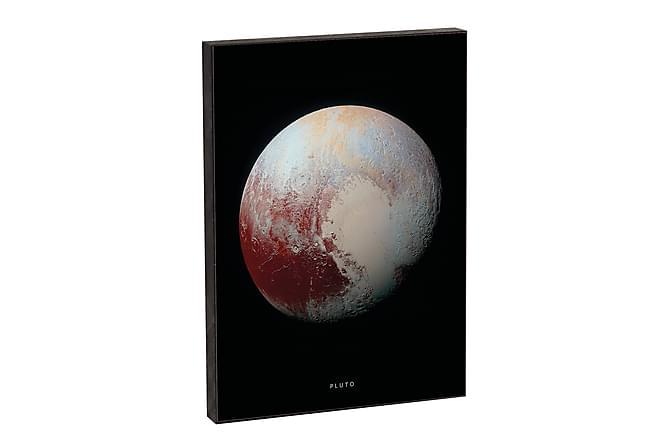 NASA Pluto - Innredningsblokk 21x15x2cm - Innredning - Veggdekorasjon - Bilder & kunst