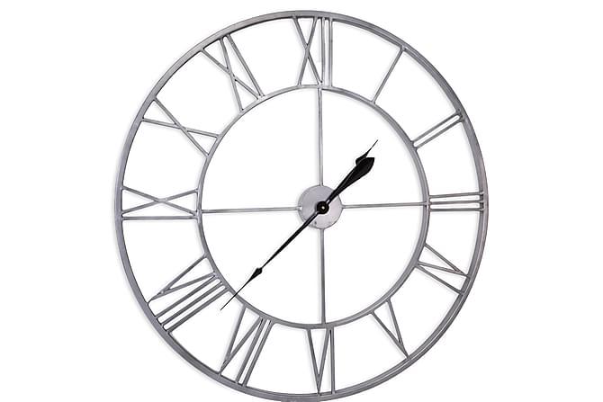 Oldstyle Klokke - Grå - Innredning - Veggdekorasjon - Klokker