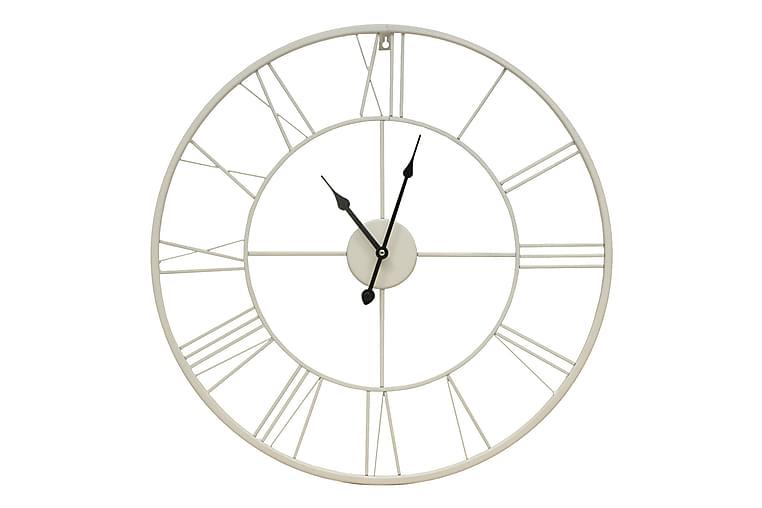 White Klokke - 60x60 cm - Innredning - Veggdekorasjon - Klokker