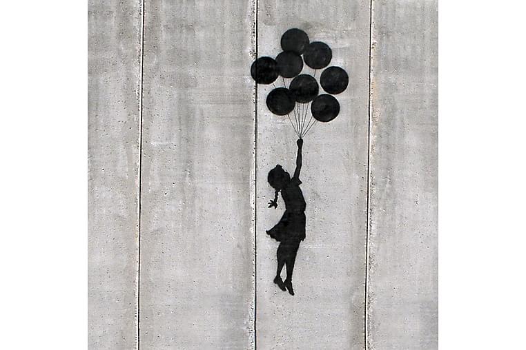 Author's Inspirations Rammeverk Bansky Ballonger - Homemania - Innredning - Veggdekorasjon - Lerretsbilder
