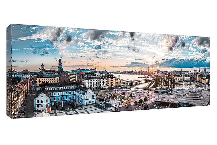 Bilde Canvas Slussen, Stockholm - 60x150 cm - Innredning - Veggdekorasjon - Lerretsbilder