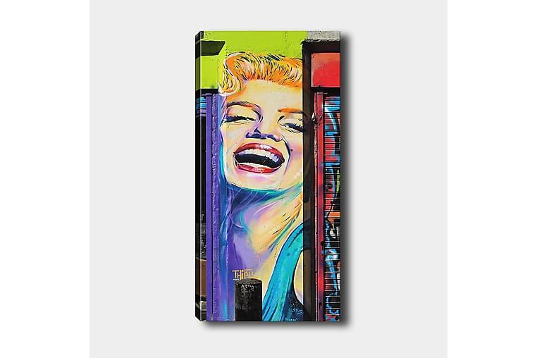 Canvasbilde DKY People Flerfarget - 50x120 cm - Innredning - Veggdekorasjon - Lerretsbilder