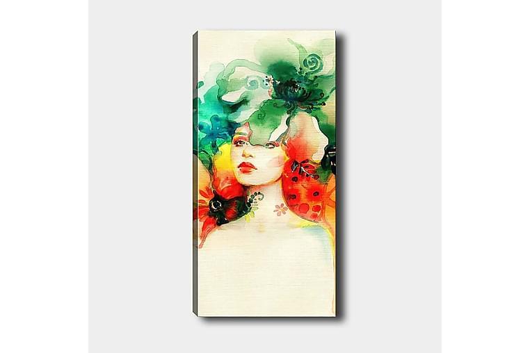 Canvasbilde DKY Spiritual Flerfarget - 50x120 cm - Innredning - Veggdekorasjon - Lerretsbilder