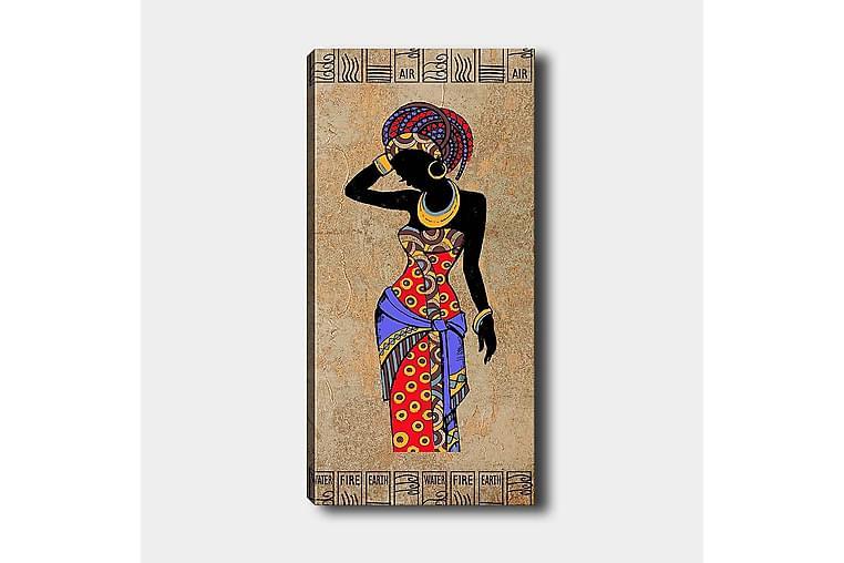 Canvasbilde DKY World Cultures Flerfarget - 50x120 cm - Innredning - Veggdekorasjon - Lerretsbilder